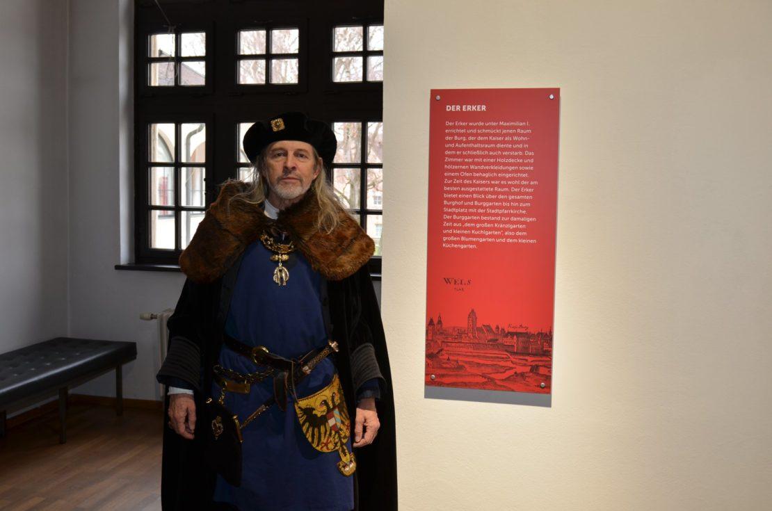 Kaiser Maximilian in Wels