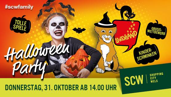 Halloweenparty im Löwenland
