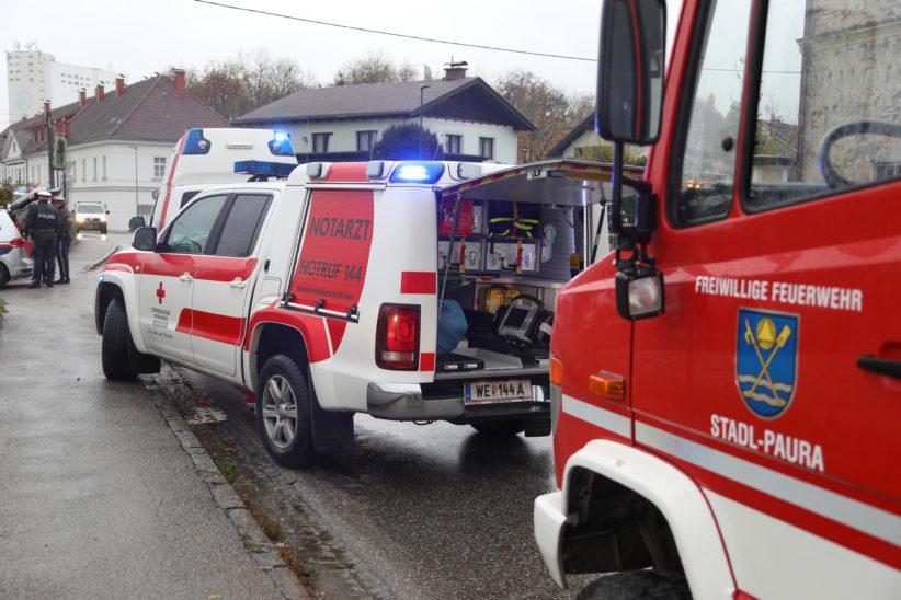 Verkehrsunfall in Stadl-Paura fordert zwei Verletzte