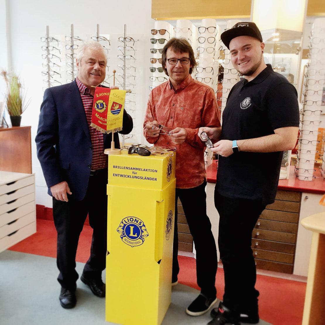 Brillen-Recycling: Lions Club sammelt alte Brillen für fehlsichtige Menschen