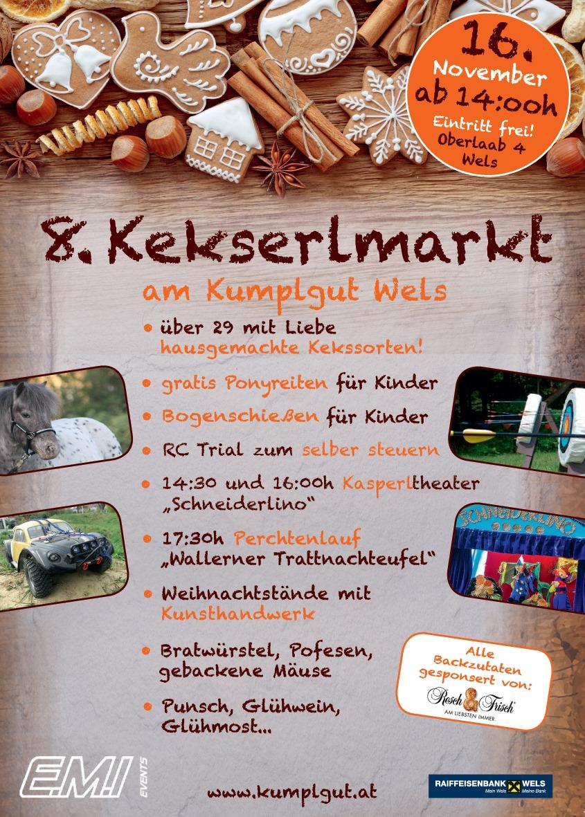 8. Kekserlmarkt am Erlebnishof Kumplgut a 16.11.2019 ab 14:oo Uhr