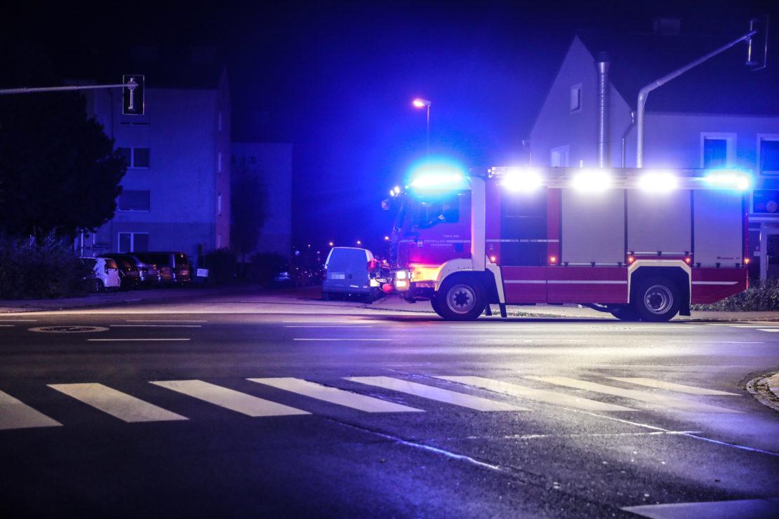 Gezündeter Böller löst Einsatz der Feuerwehr in Wels-Lichtenegg aus