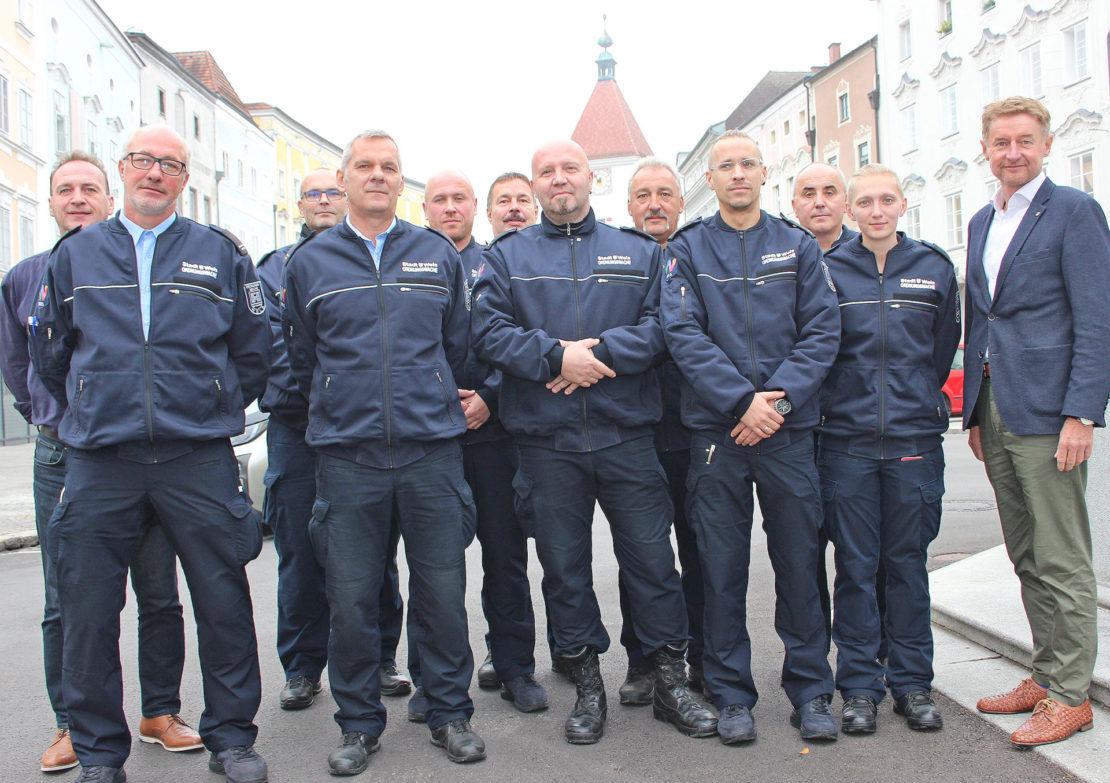 Ordnungswache - 10 Jahre Unterstützung für Polizei