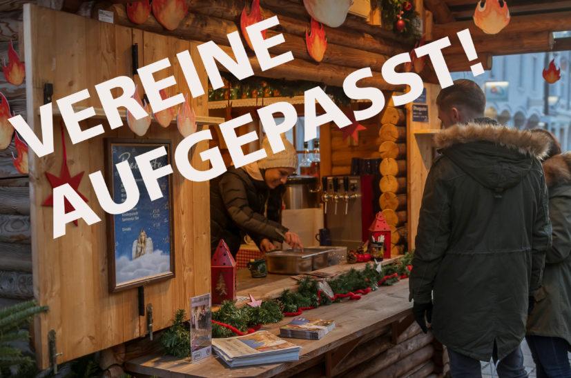 Welser Weihnachtswelt: Mit Hilfe der Charityhütte die eigene Vereinskassa aufbessern