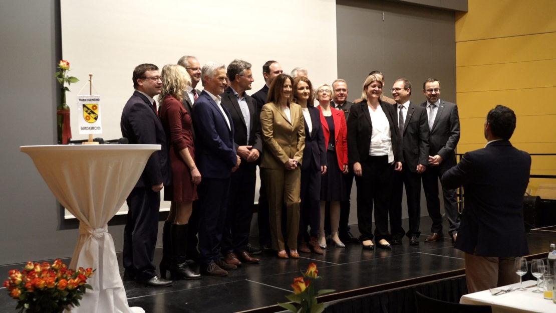 Wirtschaftsempfang - Gunskirchens Unternehmer in der LMS
