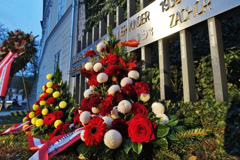 Stadt Wels gedenkt der Reichspogromnacht