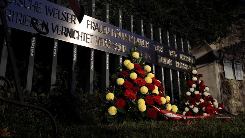 Reichsprogromnacht - Gedenkfeier in Wels