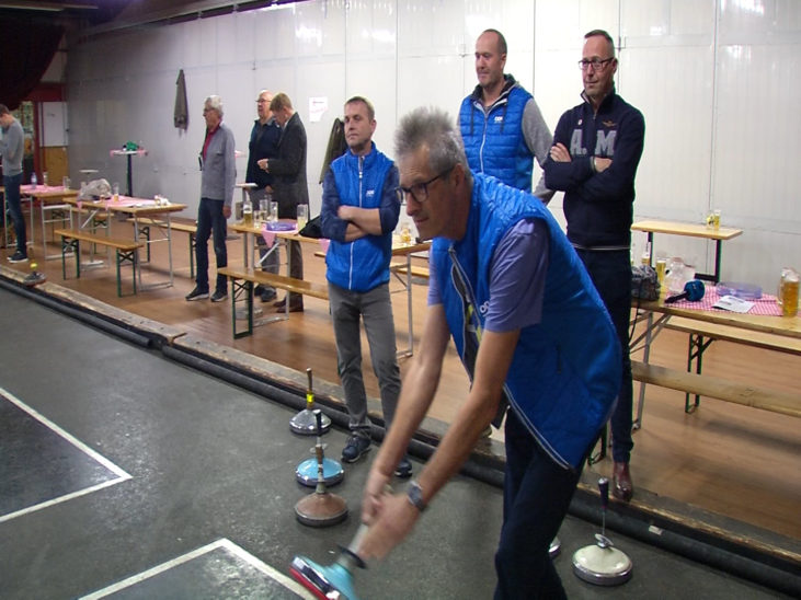 25 Jahre Promi Stockschießen - Team Installationstechnik holt den Sieg