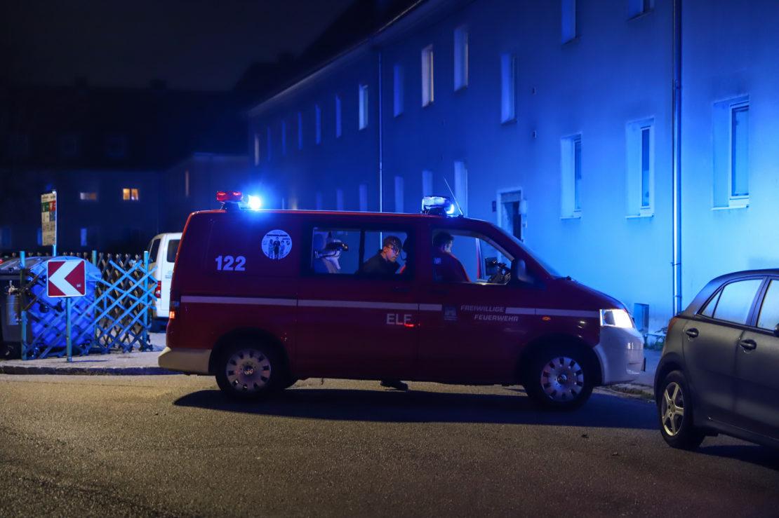 Einsatz wegen angebranntem Kochgut in einer Wohnung in Wels-Vogelweide