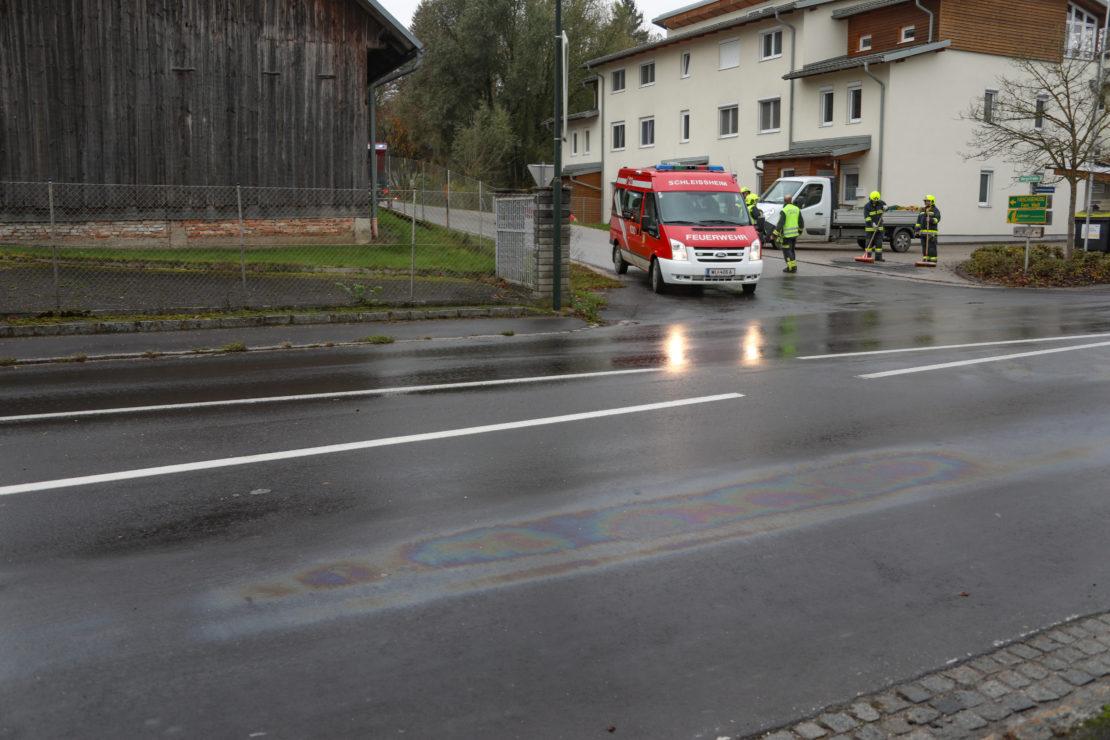 Dieselspur auf rund zehn Kilometern Länge im Bezirk Wels-Land
