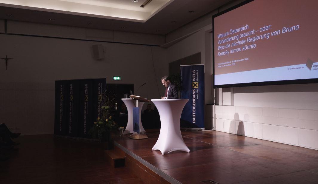 Unternehmerabend - Politik-Ratschläge von Franz Schellhorn