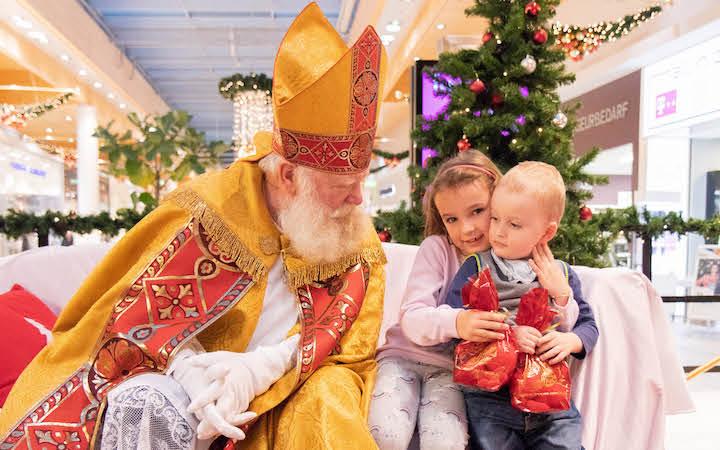 Nikolaus zu Gast im max.center!