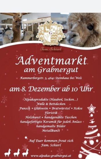Adventmarkt am Grabnergut Steinhaus