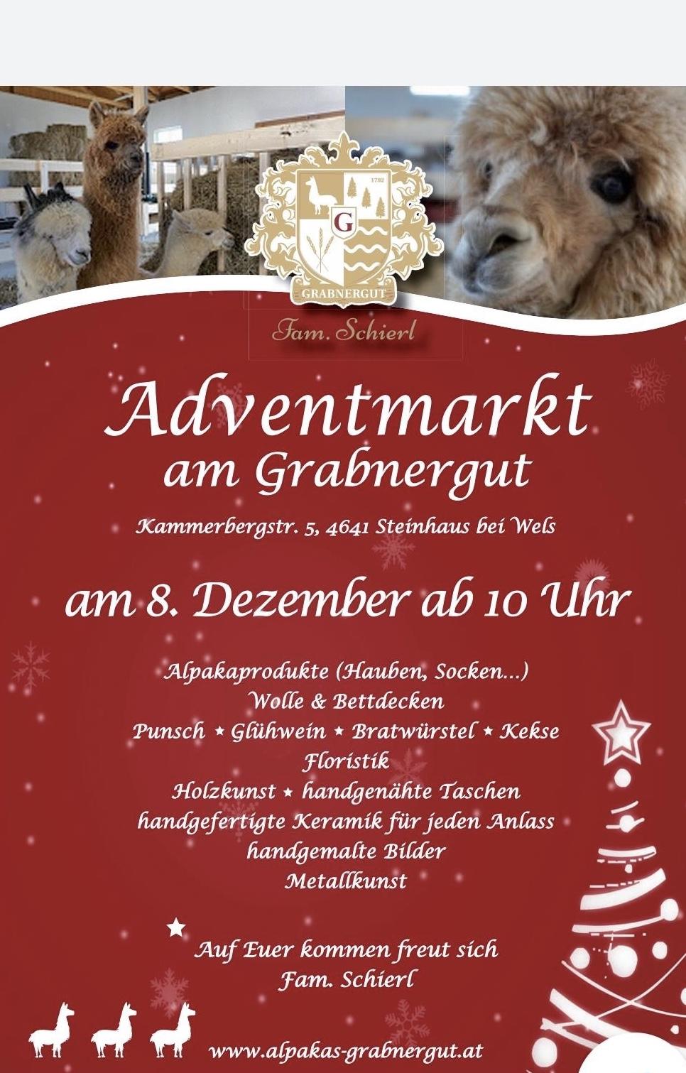 Adventmarkt am Grabnergut Steinhaus