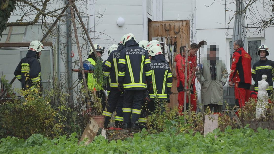 Sturz in Brunnenschacht: Mann bei Arbeiten in Buchkirchen schwer verletzt