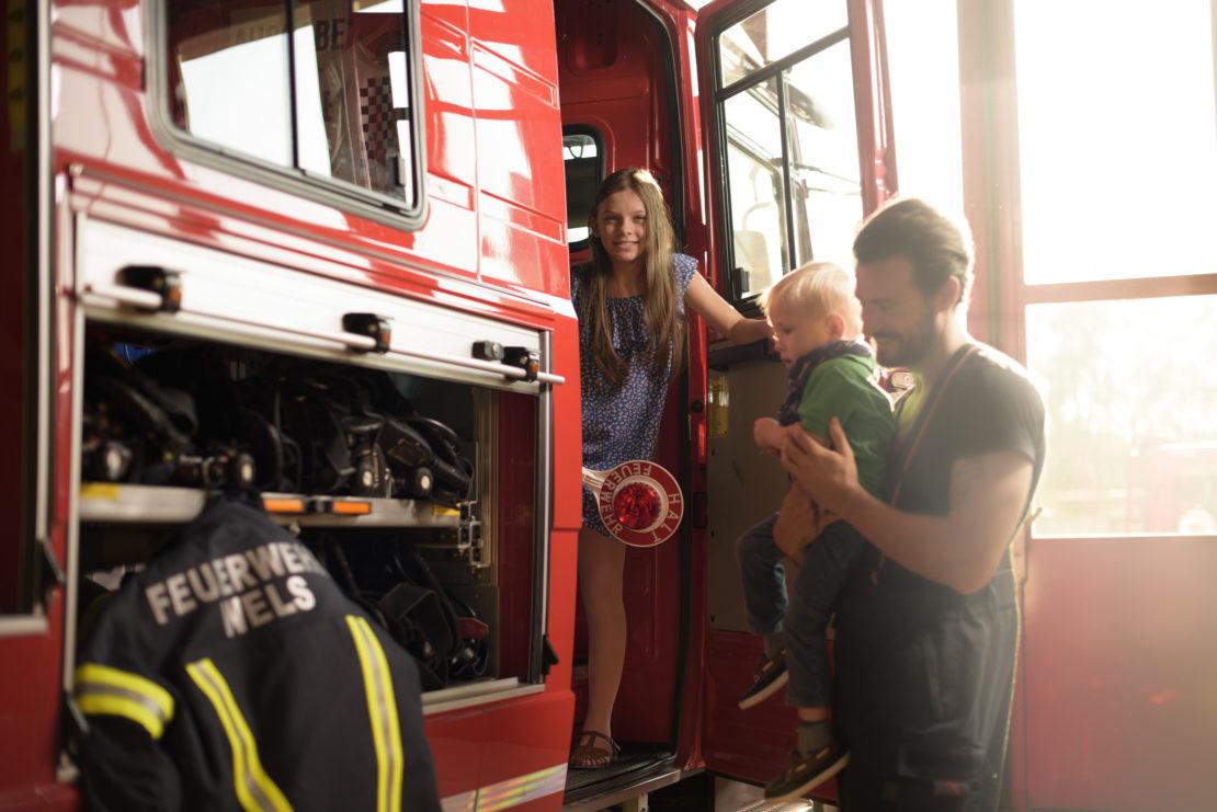 Blaulichttage in Wels: Feuerwehr Wels zu Besuch am 5. Dezember