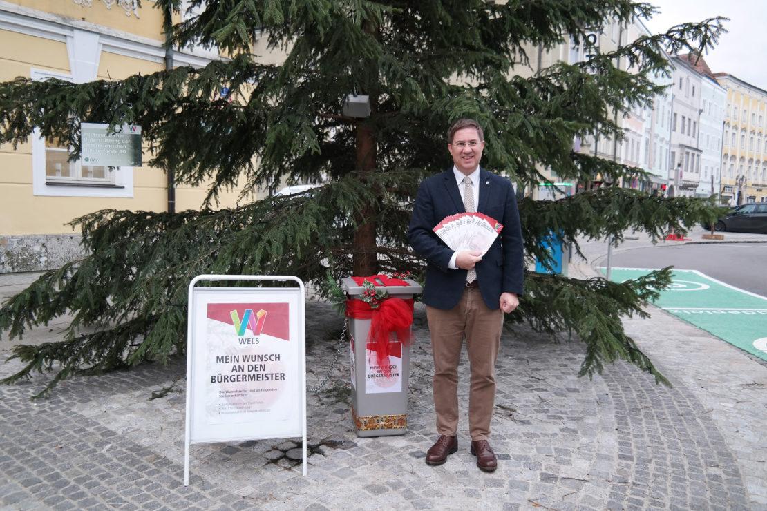 Weihnachtswunsch-Box für die Bürger - Überraschung für die Kinder