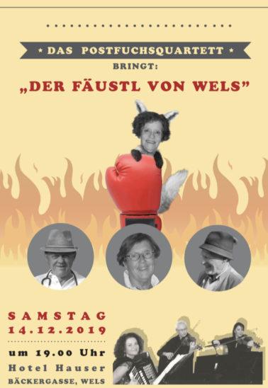 """Welt(s)uraufführung """"Der Fäustl von Wels"""