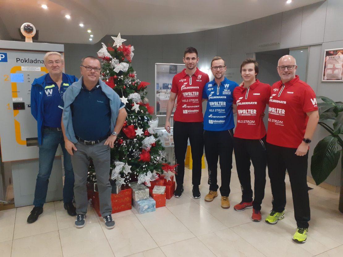 Weihnachtswünsche vom Tischtennis Team