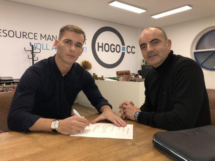 WSC HOGO Hertha Neuverpflichtung Denis Berisha