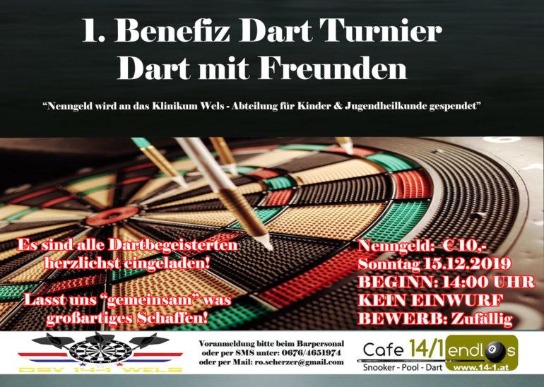 1.Benefitz Dart Turnier