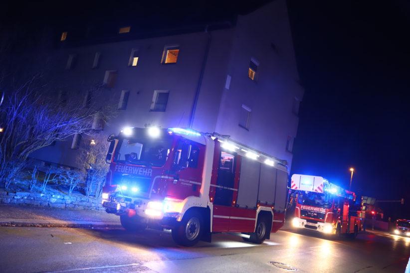 Rasche Entwarnung nach Alarm eines CO-Warnmelders in einer Wohnung in Wels-Neustadt