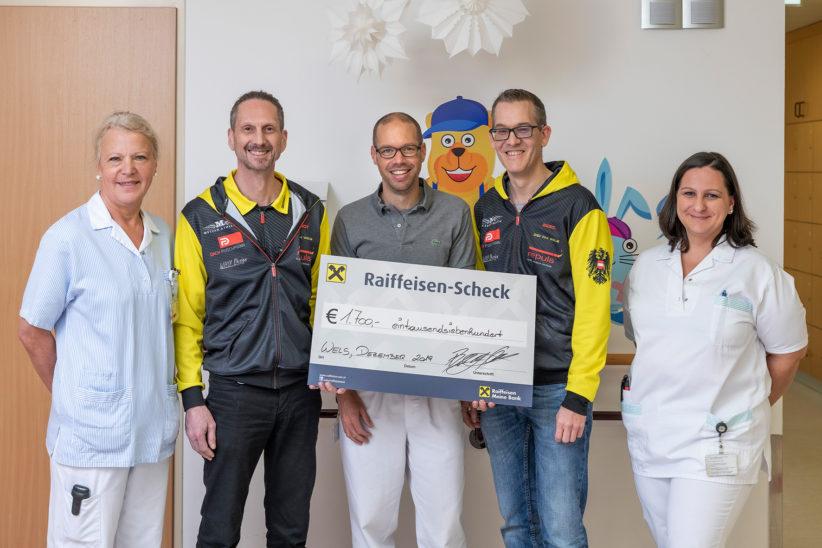 Welser Vereine unterstützen junge Klinikum-Patienten