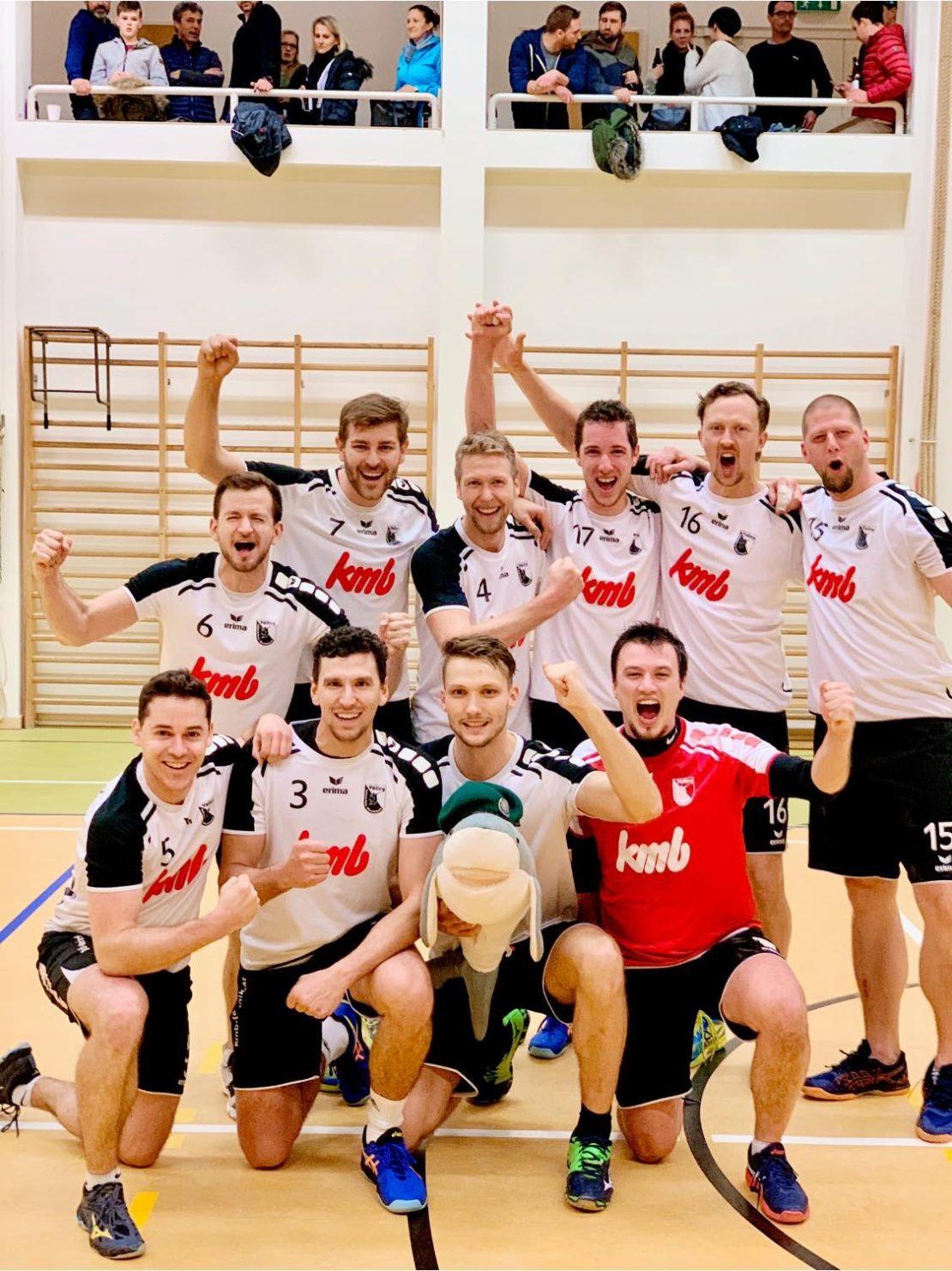 Sieg für die Scharnstein/Eberstalzell Volleys