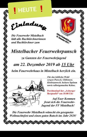 Punschstand in Mistelbach