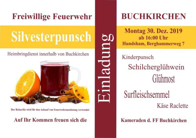 Punschstand der FF Buchkirchen