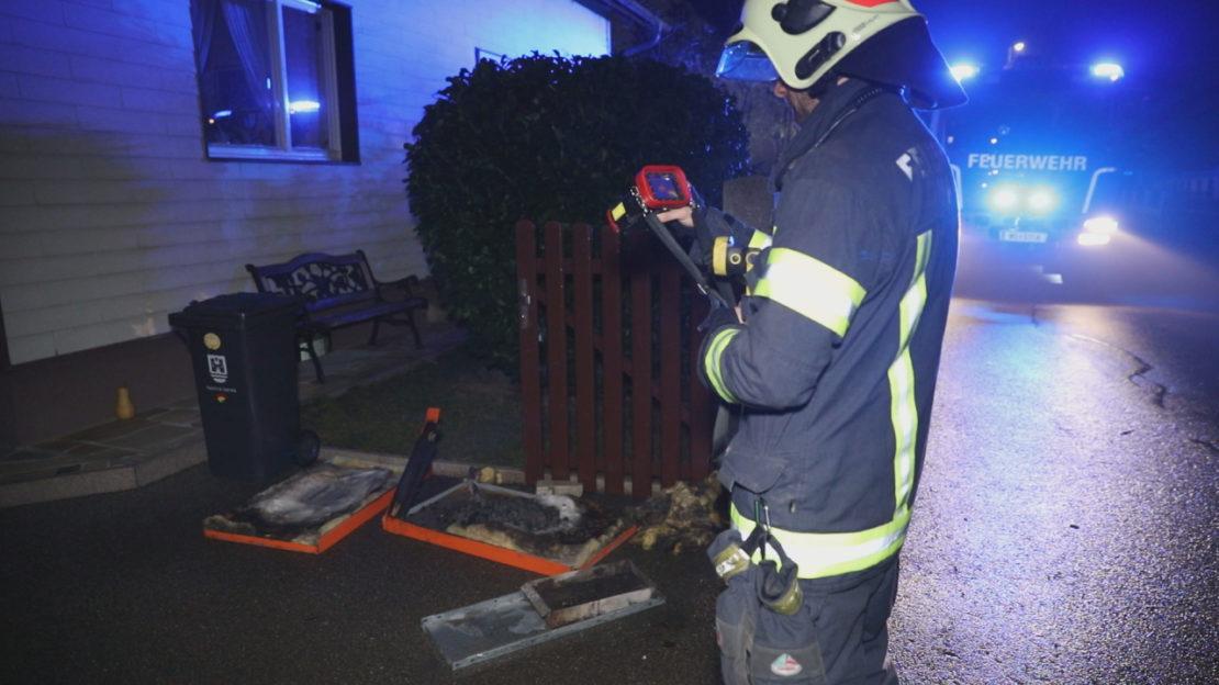 Brand im Bereich einer Heizungsanlage in einem Wohnhaus in Wels-Waidhausen