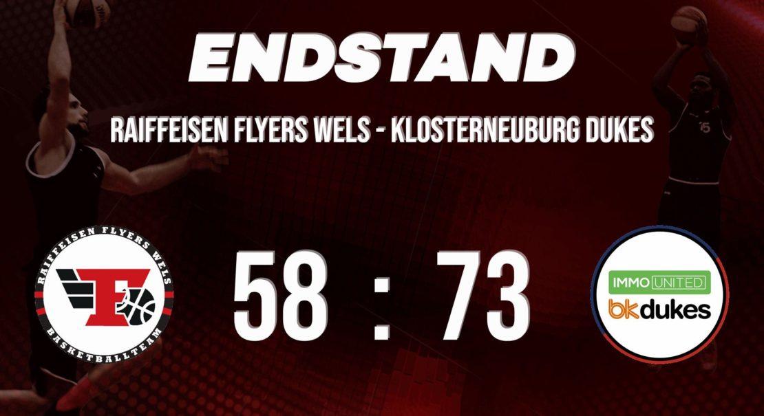 Niederlage für die Flyers