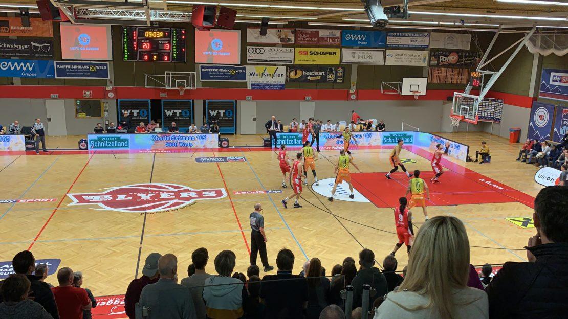 Flyers Wels vs. Graz