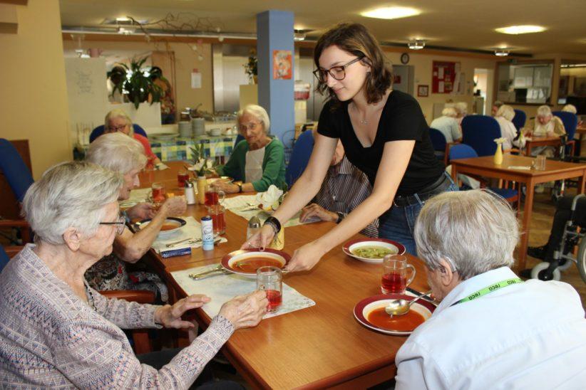 Sozialjahr in der Seniorenbetreuung