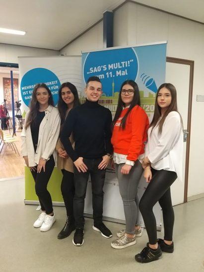 HAK-Schüler bei Redewettbewerb in Wien
