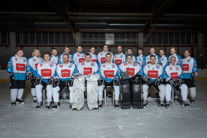 Play-Off-Auftakt der Welser Eishockeycracks