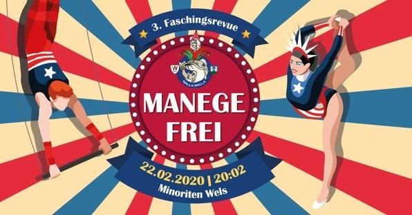 3. Faschingsrevue MANEGE FREI!