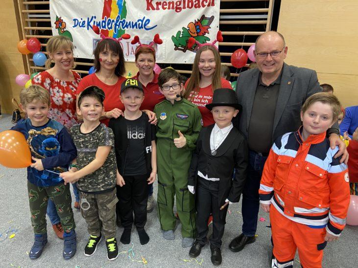 30 Kinderfreunde Fasching in Krenglbach
