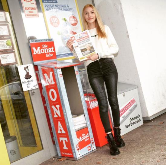 Die Monatliche - Welser Zeitung mit neuen Entnahmeboxen