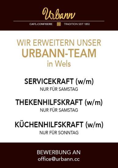 Urbann erweitert sein Team