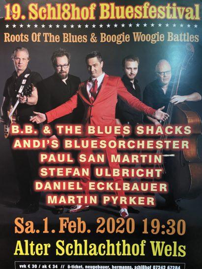 19. Schl8hof Bluesfestival