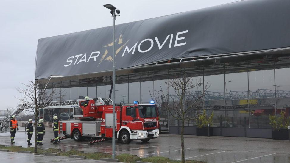 """Sturmtief """"Petra"""" sorgt für zahlreiche Sturmeinsätze und Stromausfälle in weiten Teilen Oberösterreichs"""