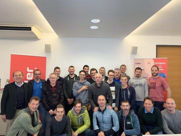 Team Felbermayr zu Besuch bei Löffler