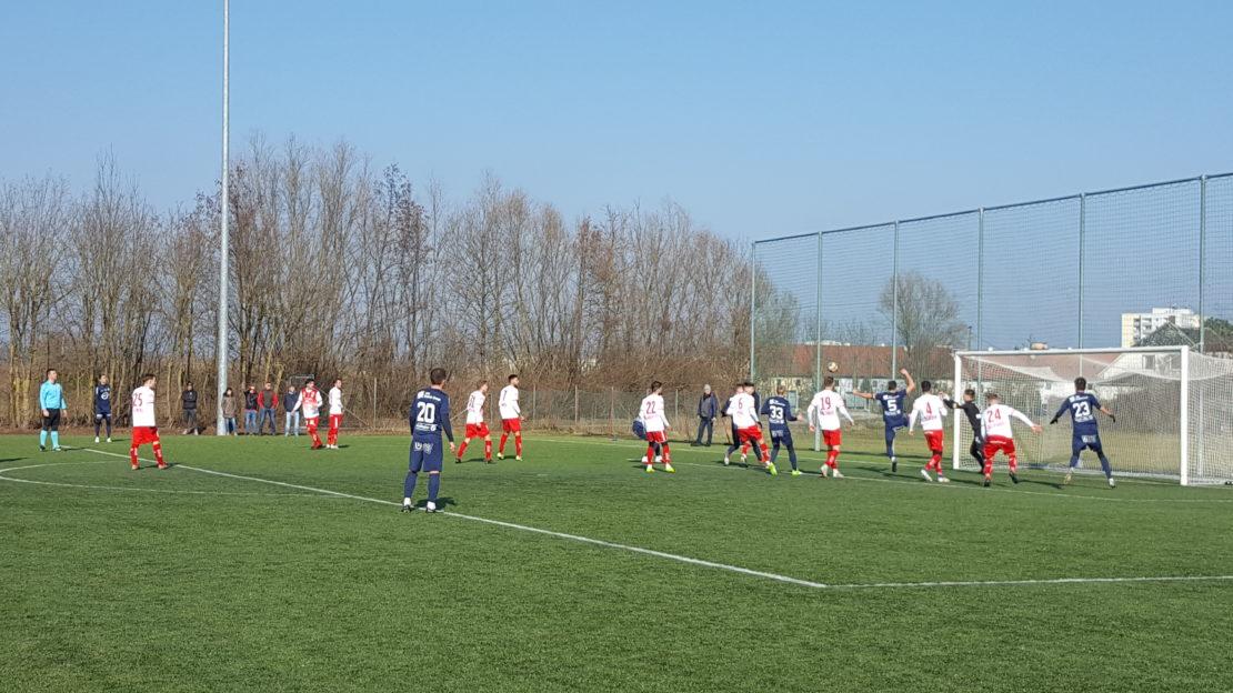 Testspielerfolg von WSC HOGO Hertha gegen SK Vorwärts Steyr