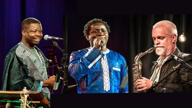 Afro & Music - Mamadou Diabate & Wolfgang Puschnig & Hamidou Koita