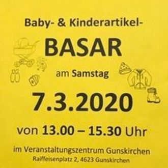 Baby und Kinderartikel Basar VZ Gunskirchen
