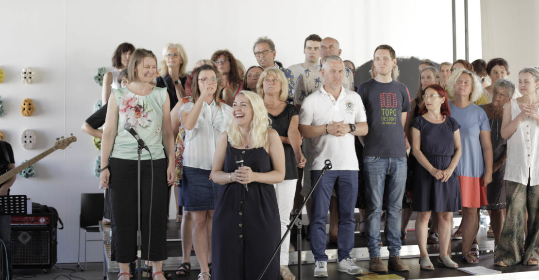 Singen macht glücklich - das Medien Kultur Haus Chorprojekt!