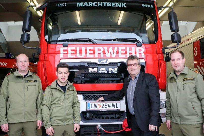 Zivildiener bei der Feuerwehr Marchtrenk