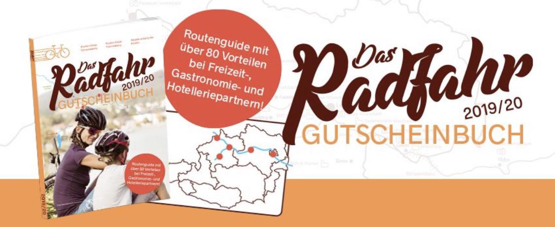 Das Radfahr Gutscheinbuch