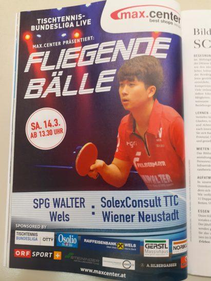 Walter Wels steht im Final Four